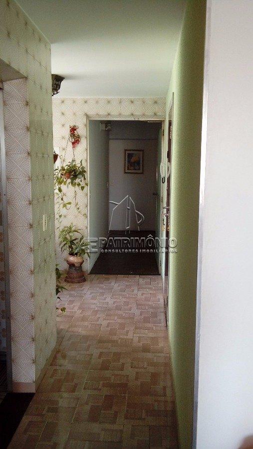 Área de entrada do apartamento