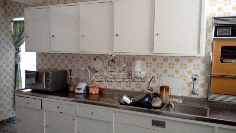 Detalhe dos móveis da cozinha